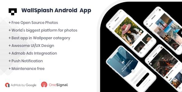 WallSplash v1.0 - Android Native Wallpaper App