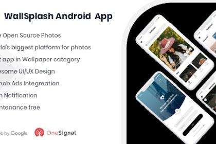 Download WallSplash v1.0 - Android Native Wallpaper App