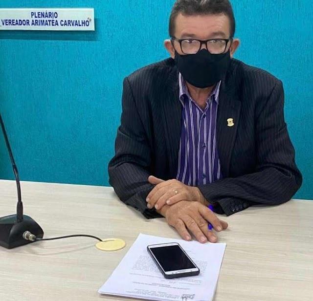 Presidente Carlson Pessoa informa que Mão Santa está com um projeto em Brasília sobre os Piscinões