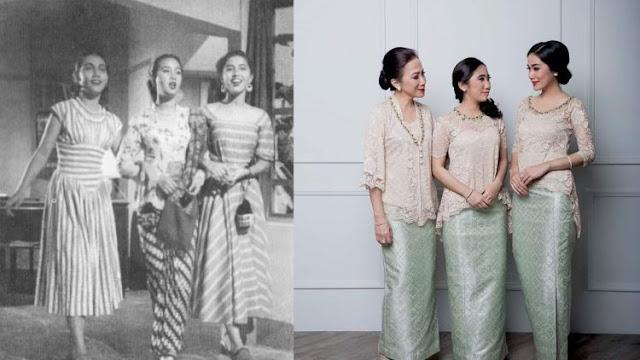 Perbedaan Fashion Dulu dan Sekarang