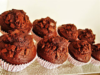 Kako se prave čokoladni mafini / How to make chocolate muffins
