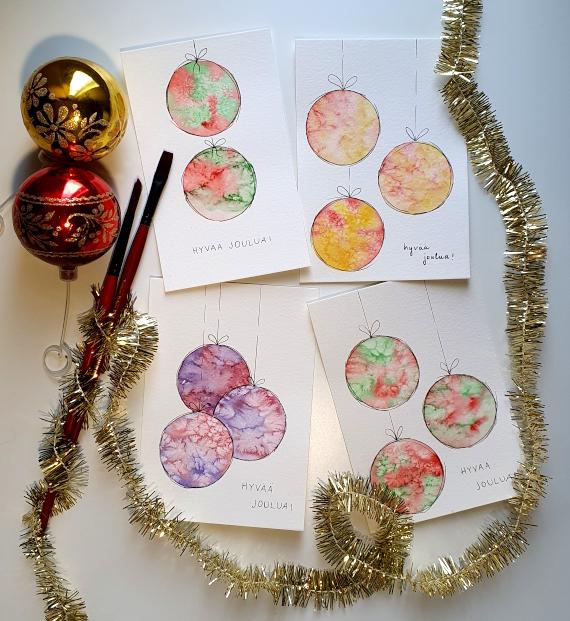 Joulukuusen juurella, postauksen kuva
