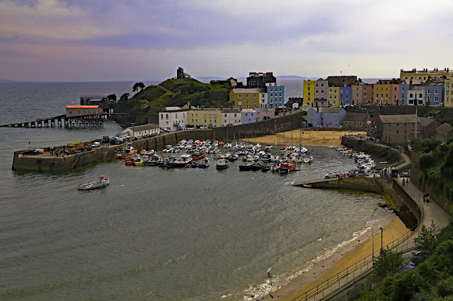 Buy Photo Art of Tenby Harbour