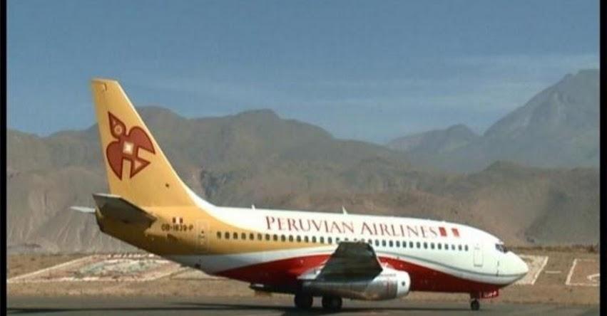 PERUVIAN AIRLINES: Falla técnica obligó a aerolínea con destino al Cusco retornar a Lima