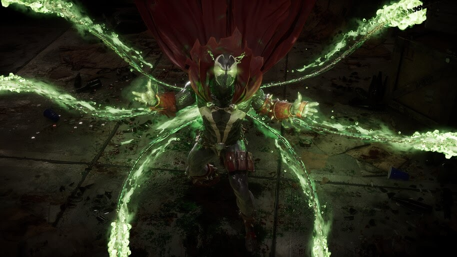 Spawn Chains Mortal Kombat 11 4k Wallpaper 7 1433