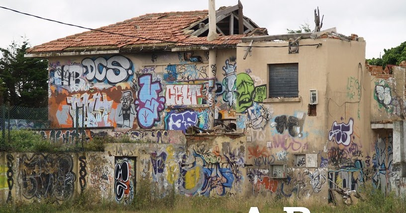 Fotografia Alonsorobiscoes Fotografia Serie Graffiti Casa Graffiti - Graffitis-en-casa
