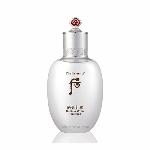 Radiant white emulsion