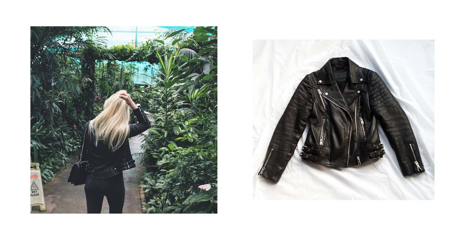 All saints leather jacket review