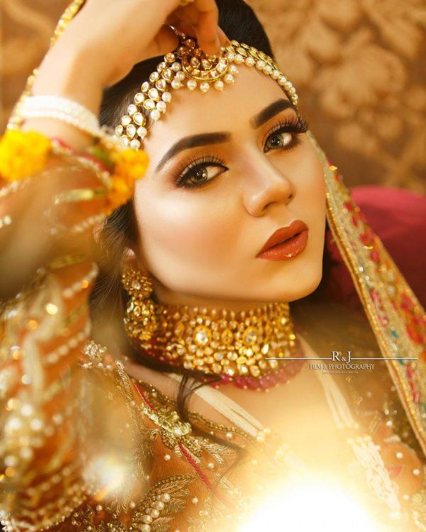 Tiktok star Areeka Haq new Photoshoot is Bridal Inspiration