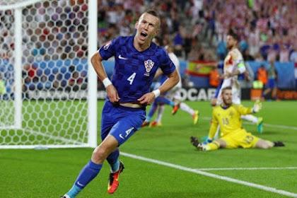 Kapten Timnas Kroasia Berperan Dalam Kemenangan Melawan Spanyol !