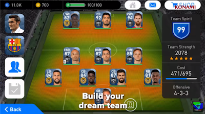 Pro Evolution Soccer 2018 Mod Apk OBB Terbaru