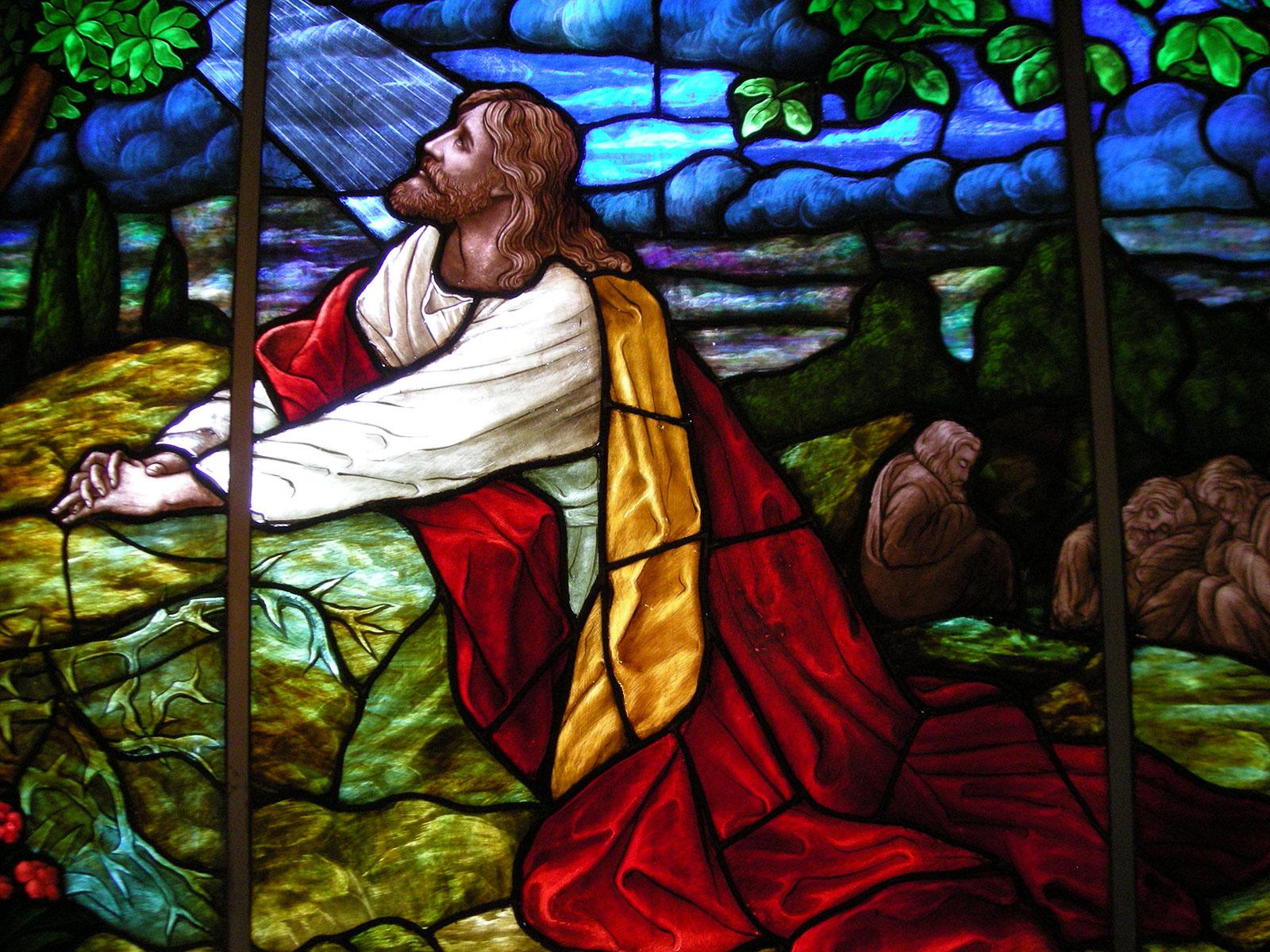 An elliptical glory god already knows proper 12c - Jesus in the garden of gethsemane ...