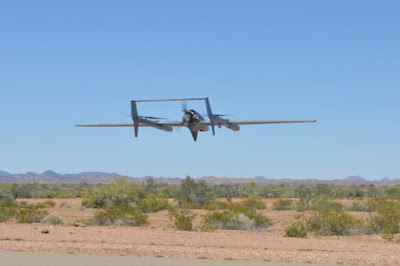 US Navy VTOL Hybrid Drone