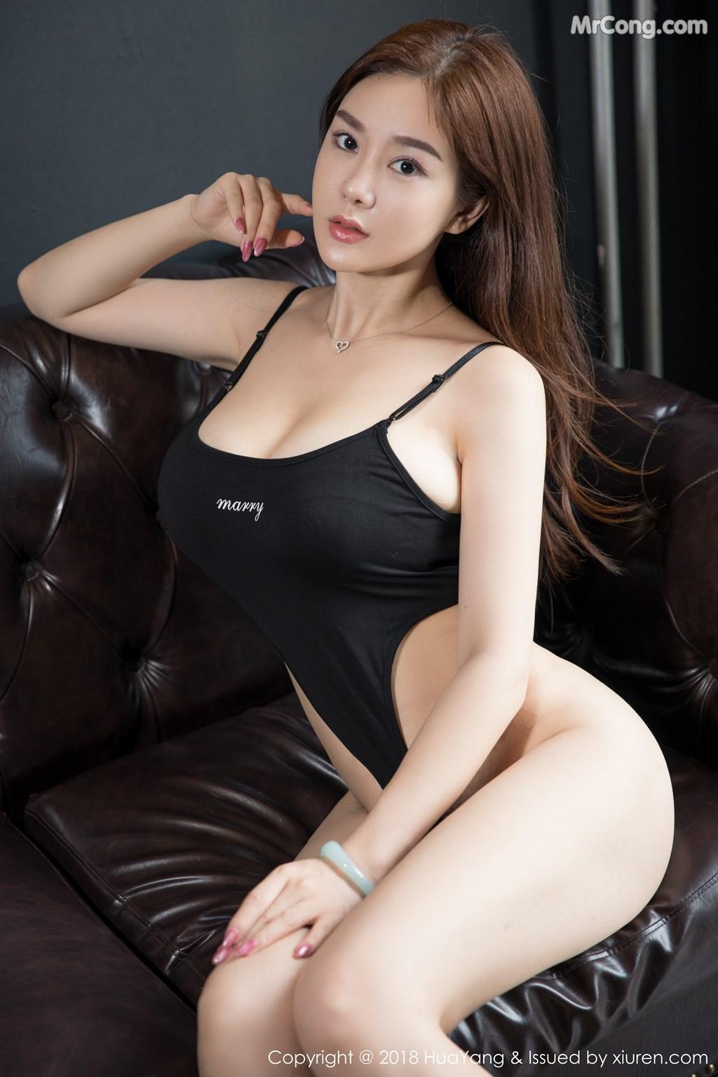 Image HuaYang-2018-08-09-Vol.068-Silvia-MrCong.com-007 in post HuaYang 2018-08-09 Vol.068: Người mẫu 易阳Silvia (41 ảnh)