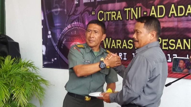 Pendam III/ Siliwangi Gelar Syukuran HUT Penerangan TNI AD Ke-69