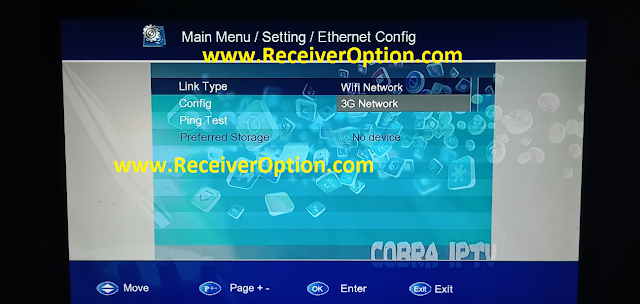 1506G 512 4M NEW SOFTWARE WITH COBRA IPTV & DIRECT BISS KEY ADD OPTION