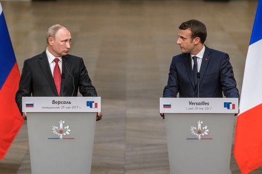 Putin y Macron ratifican adhesión a acuerdo nuclear con Irán
