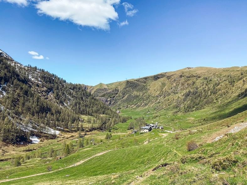 Trekking in Val Biandino