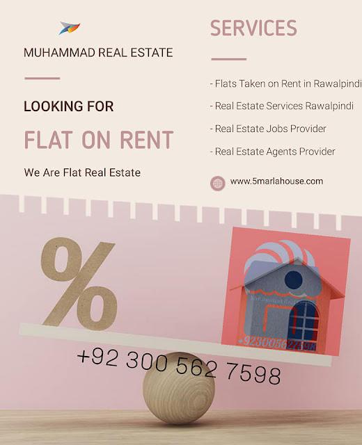 Flats for Taken on Rent in Takal, Rawalpindi, Pakistan, Muhammad Real Estate - Call +923005627598