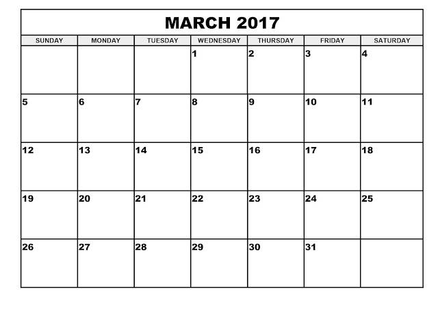 March 2017 Calendar Word Excel PDF, March 2017 Calendar Word, March 2017 Calendar Excel, March 2017 Calendar PDF, March 2017 Printable Calendar