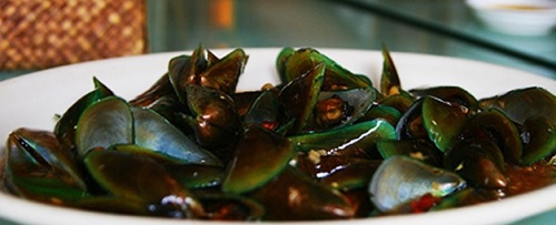 resep kerang hijau saus tiram