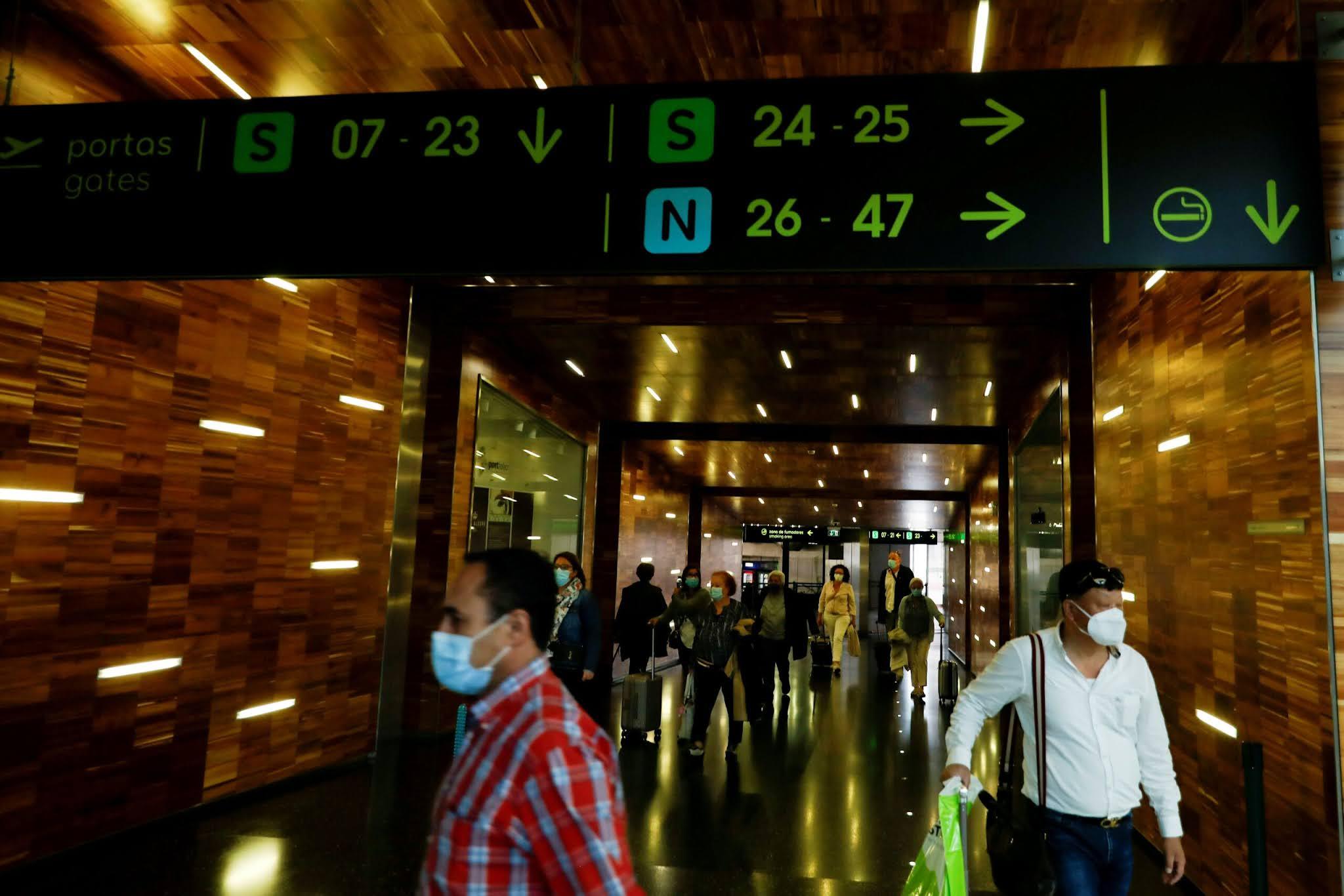 Portugal libera entrada de viajantes do Brasil