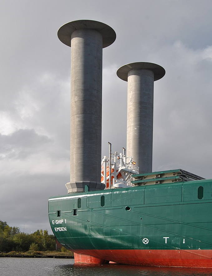German RoLo cargo ship E-Ship 1.