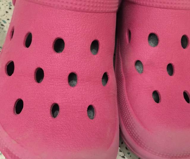 Kugelfisch-Blog - pinke Schuhe