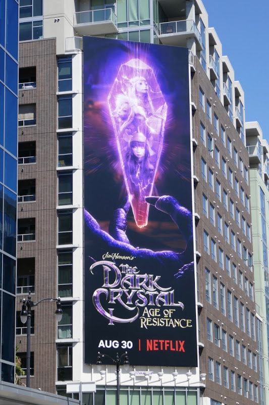 Dark Crystal Age of Resistance series billboard