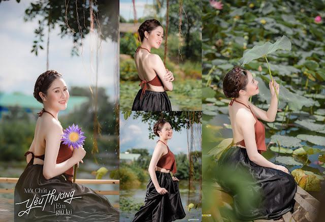 Chụp Hình Yếm Đào Hồ Sen TP HCM - UYÊN