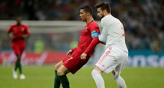 مواجهة مباراة اسبانيا والبرتغال فى تحضيرات يورو 2020