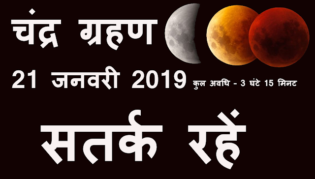Chandra Grahan 2019
