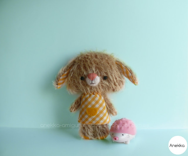 amigurumi mohair toy soft