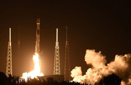SpaceX is launching a Falcon 9 rocket for the ninth time