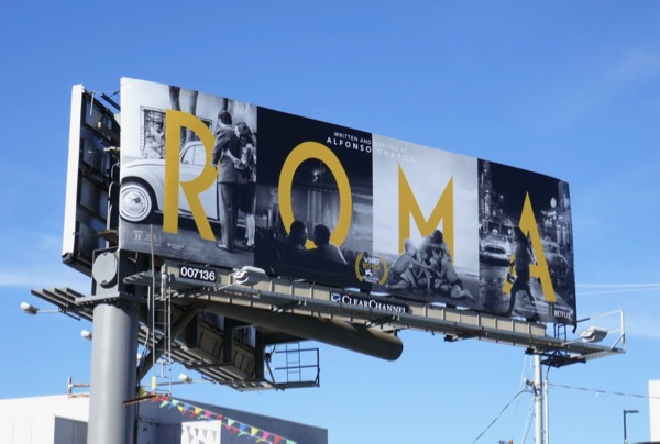 Roma film billboard