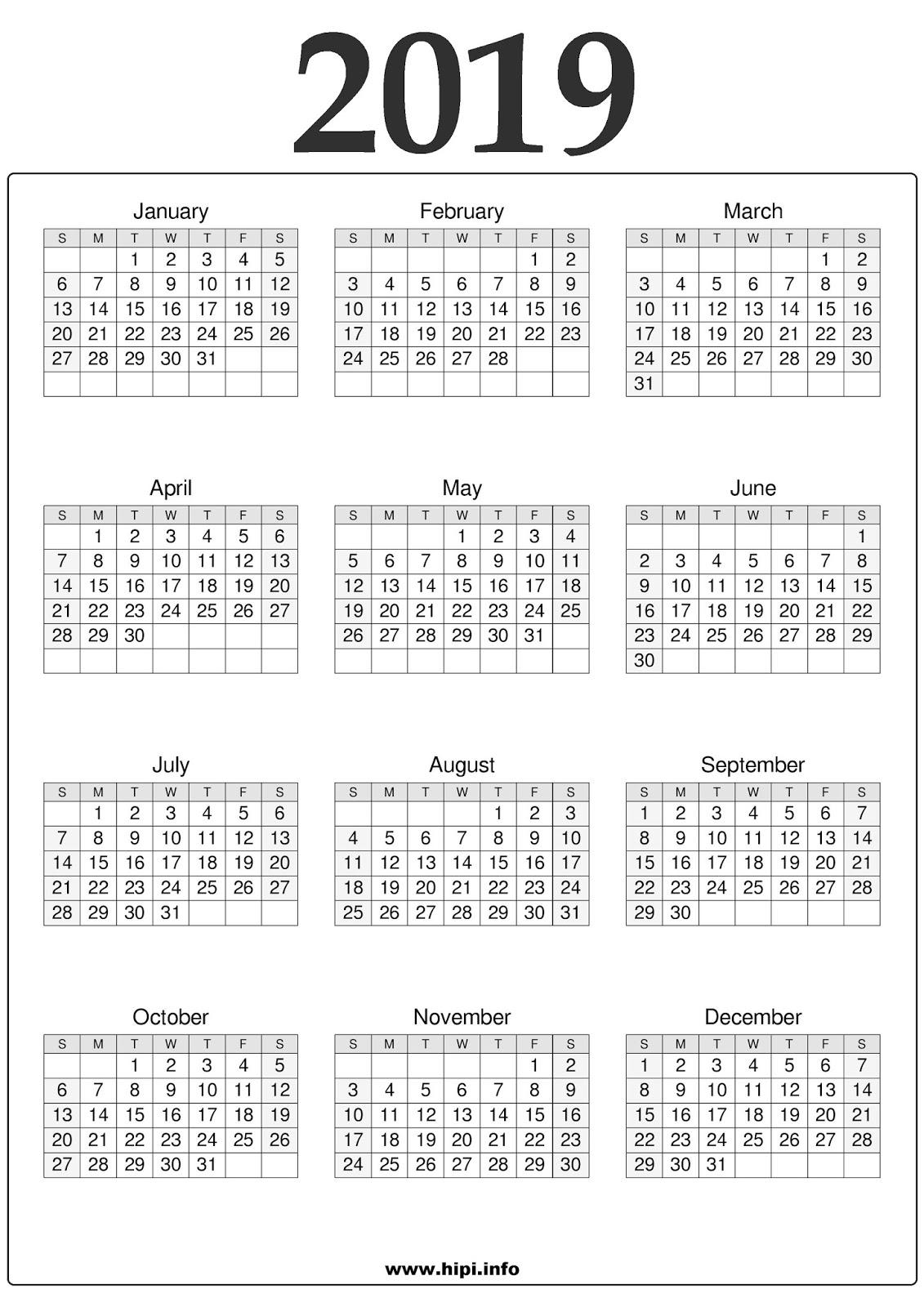 Calendars Printable / Twitter Headers / Facebook Covers ...