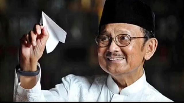 Indonesia Berduka, BJ Habibie Bawa Sejarah Indonesia ke Mata Dunia Lewat Industri Dirgantara