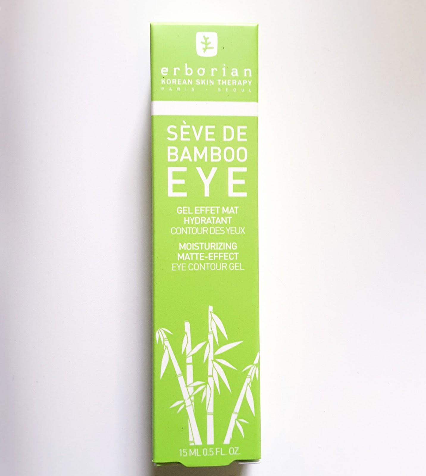 Recensione contorno occhi Sève de Bamboo Eye di Erborian