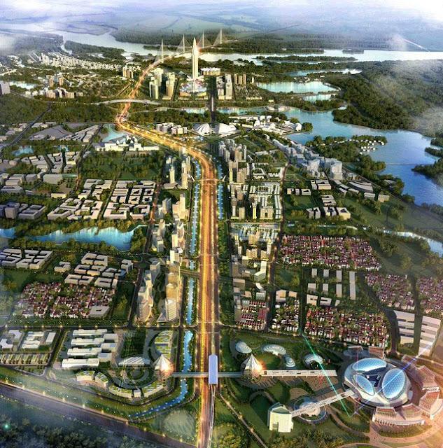 Quy hoạch đô thị thông minh dọc trục Nhật Tân – Nội Bài, chiều dài khoảng hơn 11km