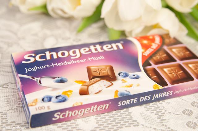 Schogetten - Joghurt-Heidelbeer-Müsli