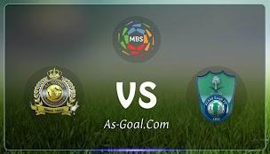 نتيجة مباراة الأهلي والنصر في الدوري السعودي