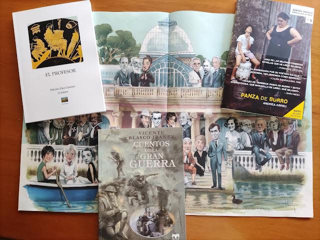 Feria del Libro de Madrid, Andrea Abreu, Plácido Díez Gansert, Vicente Blasco Ibáñez