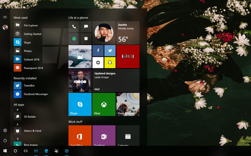 Anteprima Windows 10 Redstone 3 con nuove Immagini e Gif di Project Neon HTNovo