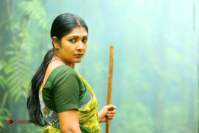 Actress Kamalini Mukharjee Stills in Saree from Pulimurugan  0001.jpg