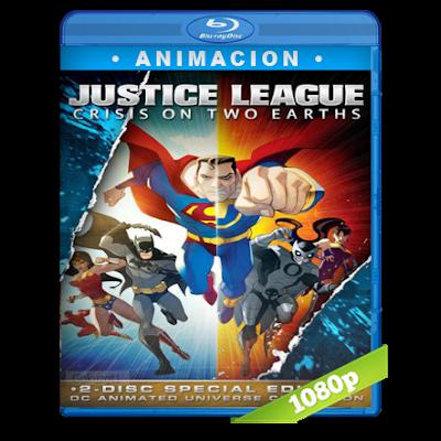 Liga De La Justicia Crisis En Dos Tierras (2010) BRRip Full 1080p Audio Trial Latino-Castellano-Ingles 5.1