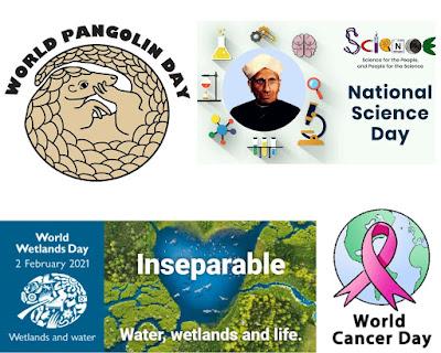 February 2021 National & International Days UPSC