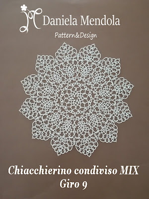 Tatting sharing MIX: round 9 - Chiacchierino condiviso MIX: giro 9