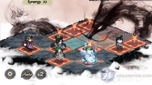 Yokai: Spirits Hunt - Torch Dragon Attack Pattern 2