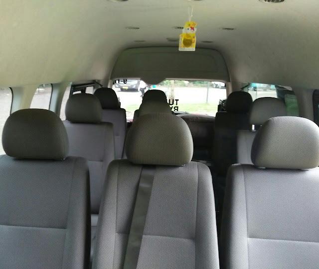 Promo sewa/rental mobil hiace di bandung