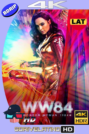 Wonder Woman 1984 (2020) IMAX BDRip 4K HDR Latino-Ingles MKV